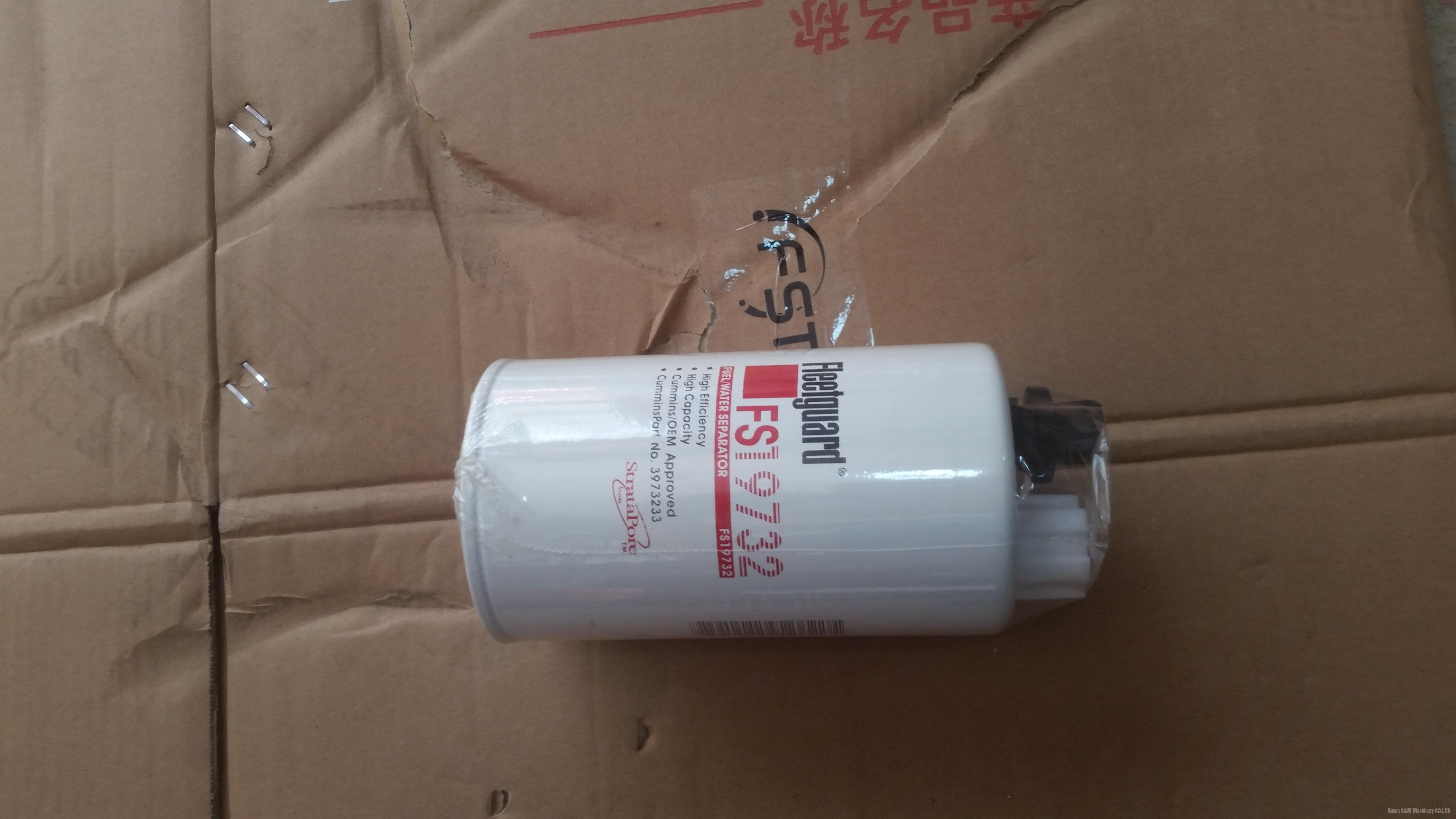 Cummins engine Diesel oil filter FS19732 3973233 1000400051